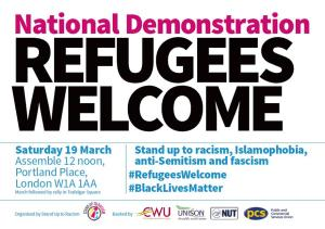 refugees welcome here demo